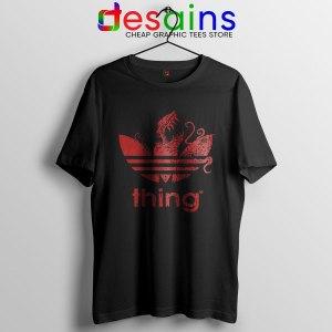The Thing Outpost 31 Adidas Black T Shirt John Carpenter
