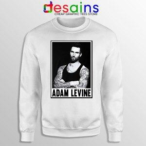 Best Adam Levine This Love White Sweatshirt Maroon 5