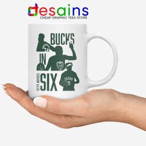 Best Bucks In Six NBA Mug Milwaukee Bucks Merch