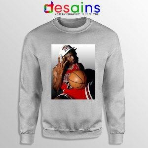 Best Three Point Jordan Sport Grey Sweatshirt Legend NBA
