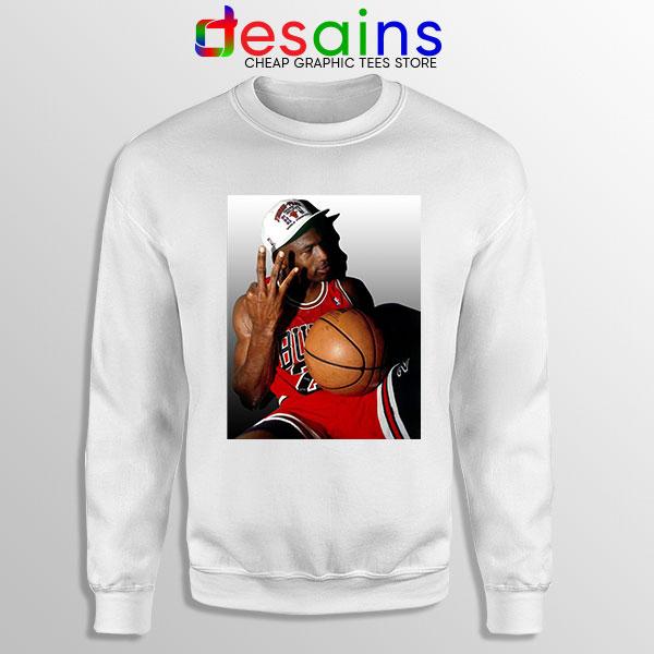 Best Three Point Jordan White Sweatshirt Legend NBA