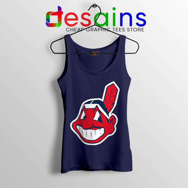 Chief Wahoo Logo Tank Top Cleveland Indians MLB