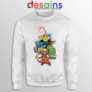 Cute Pokemon Avengers Sweatshirt Pokengers