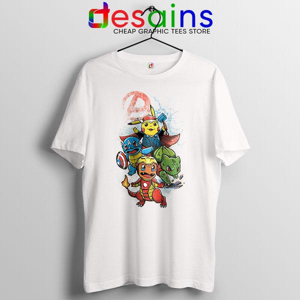 Cute Pokemon Avengers T Shirt Pokengers