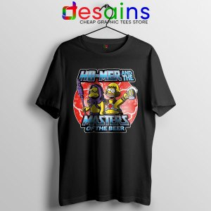 Homer Masters Of The Beer T Shirt The Simpsons