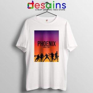 Phoenix Starting Finals White T Shirt NBA Suns Game