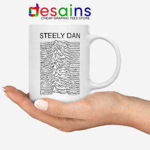 Steely Dan Division Logo White Mug Rock Band