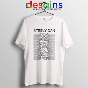 Steely Dan Division Logo White T Shirt Rock Band