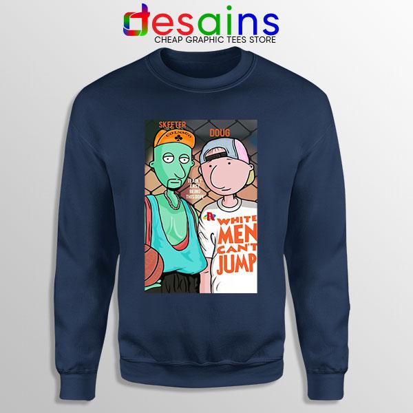 Best Doug Animated Series Navy Sweatshirt Can't jump