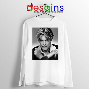 David Bowie Eyes Color Long Sleeve Tee Album Cover