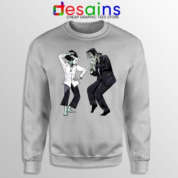 Frankenstein Wife Pulp SPort Grey Sweatshirt Dance Monster