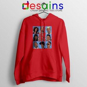Fresh Prince Bel Air Bunch Red Hoodie Belair Clothing