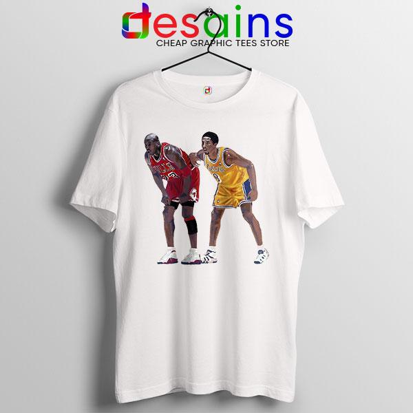 Kobe Jordan Real GOAT T Shirt NBA Legend