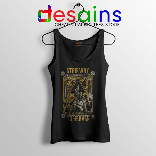 Led Zeppelin Stairway to Heaven Tank Top Rock Band