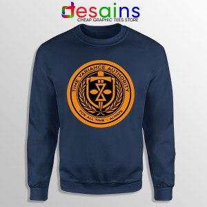 Loki Show TVA Symbol Navy Sweatshirt Disney+ Series