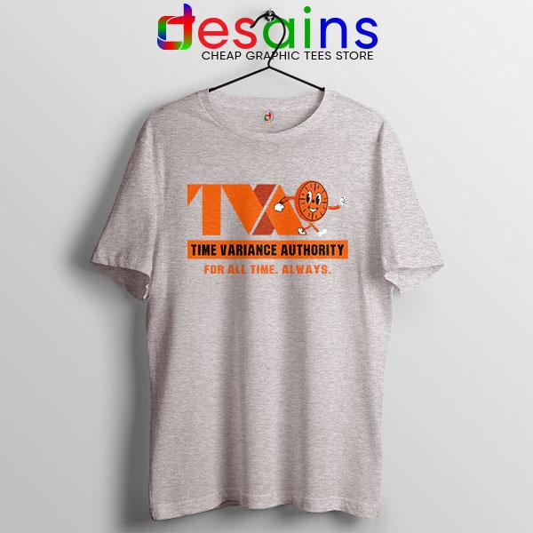 Miss Minutes TVA Loki Sport Grey T Shirt Marvel Merch