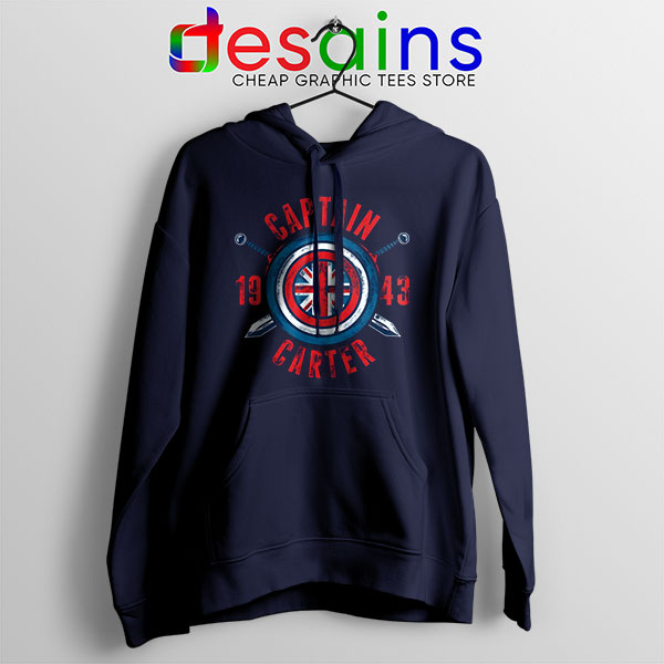 Shield Captain Carter Hoodie What If Series