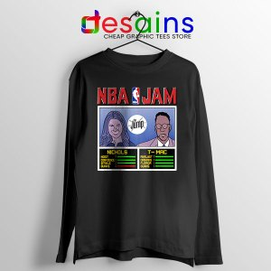The Jump NBA Finals Black Long Sleeve Tee Nichols TMac