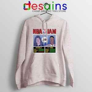 The Jump NBA Finals Sport Grey Hoodie Nichols TMac
