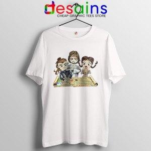 The Last Kingdom Chibi WHite T Shirt Saxon Stories