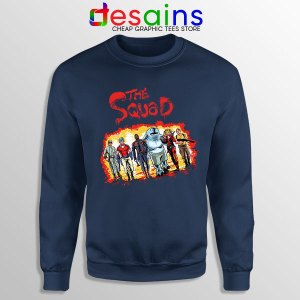 The New Suicide Squad Navy Sweatshirt DC Comics