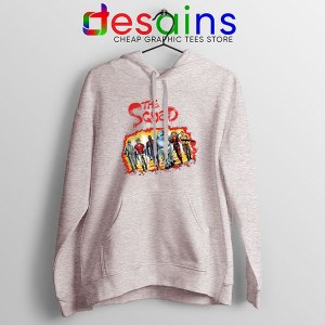 The New Suicide Squad Sport Grey Hoodie DC Comics