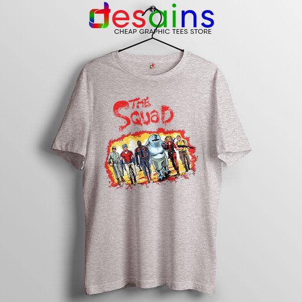 The New Suicide Squad Sport Grey T Shirt DC Comics