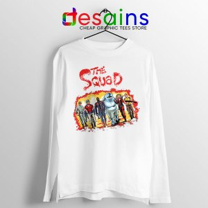 The New Suicide Squad White Long Sleeve Tee DC Comics