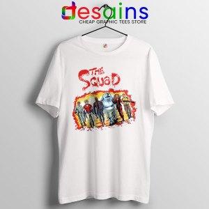 The New Suicide Squad White T Shirt DC Comics
