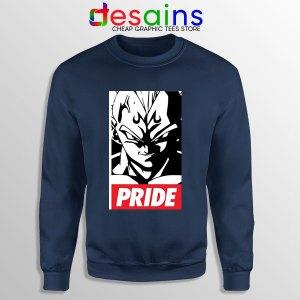 The Prince Vegeta Navy Sweatshirt Dragon Ball Z