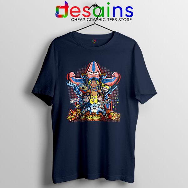 The Splat Suicide Squad Navy T Shirt Nicksplat Shows