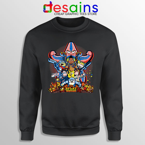 The Splat Suicide Squad Sweatshirt Nicksplat Shows