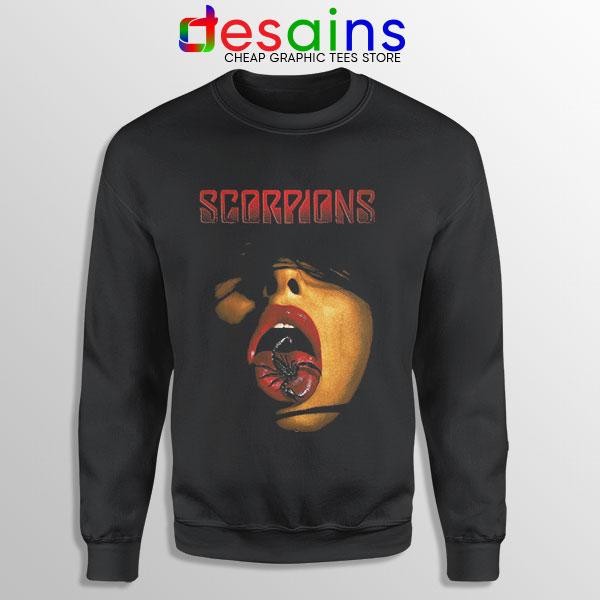 Vintage Scorpions Merch Sweatshirt Rock Band