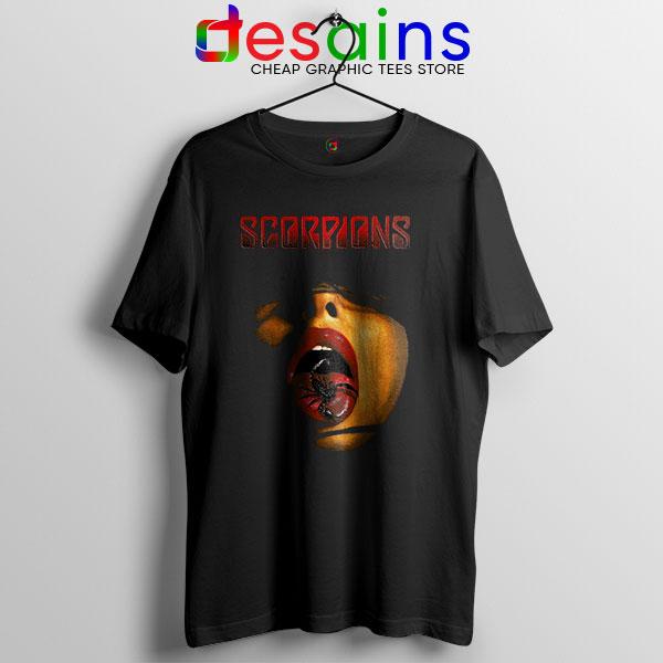 Vintage Scorpions Merch T Shirt Rock Band