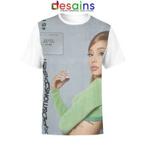 Best Ariana Grande Positions Unisex AOP Tshirt Cover