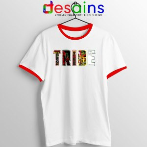 Best Tribe Called Quest Merch Red Ringer Tee Hip Hop
