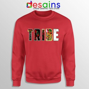 Best Tribe Called Quest Merch Red Sweatshirt Hip Hop