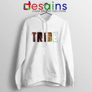 Best Tribe Called Quest Merch White Hoodie Hip Hop