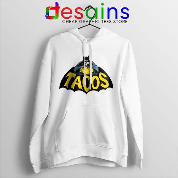 Buy Tacos Taco Bell Batman Hoodie DC Comics Funny
