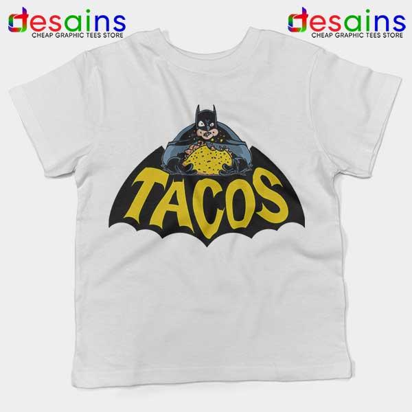 Buy Tacos Taco Bell Batman Kids Tee DC Comics