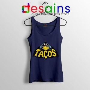 Buy Tacos Taco Bell Batman Navy Tank Top DC Comics