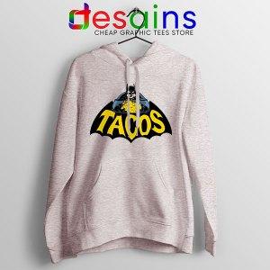 Buy Tacos Taco Bell Batman Sport Grey Hoodie DC Comics Funny