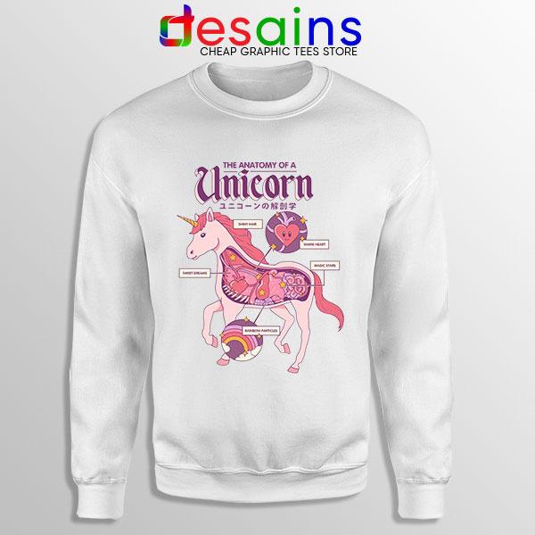 Cute Unicorn Anatomy Sweatshirt
