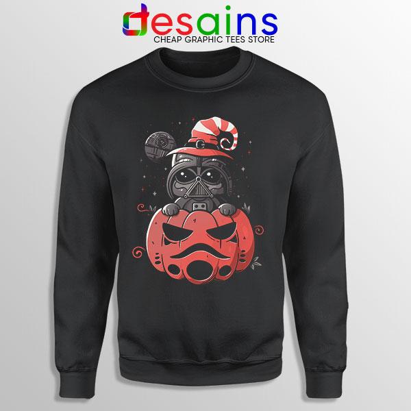 Darth Vader Pumpkin Sweatshirt Halloween Gifts
