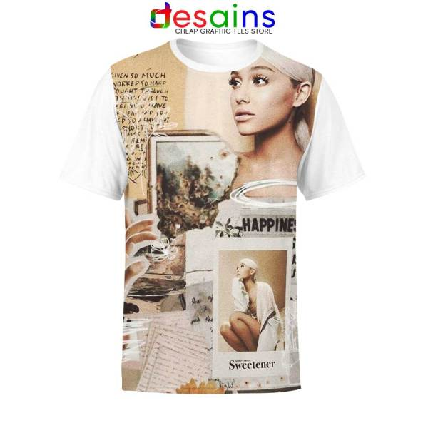Happiness 7 Rings Ariana Unisex AOP Tshirt Lyrics
