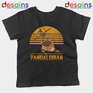 Master Po Mandalorian Kids Tee Kung Fu Panda