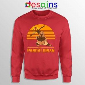 Master Po Mandalorian Red Sweatshirt Kung Fu Panda