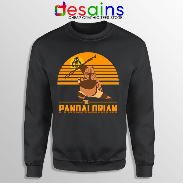 Master Po Mandalorian Sweatshirt Kung Fu Panda