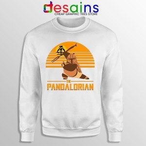 Master Po Mandalorian White Sweatshirt Kung Fu Panda