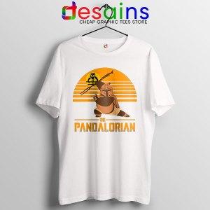 Master Po Mandalorian White Tshirt Kung Fu Panda